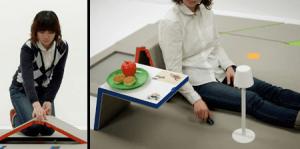 秘密基地のような様々な家具に変形する床 - Floor Transforms into Furniture -