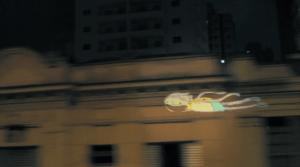 走りながら投影する画期的なプロジェクション - MTV Urban Projection -