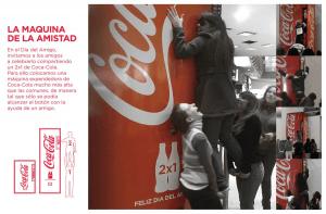 二つの「友情 × コーラ」を形にした自動販売機 - Social Vending Machine -