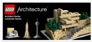 ついにキター!大人のためのレゴブロック「アーキテクチャー」日本上陸! - LEGO Architecture -