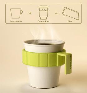 あなたはいくつのコーヒーカップを同時に持てますか? - Smart Holder -