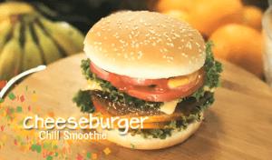 暑い夏にもってこいのチーズバーガースムージー! - Cheeseburger Chill Smoothie -