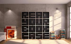 読める本棚 - ABC Bookcase -