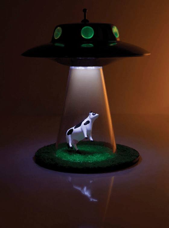 The Alien Abduction Lamp