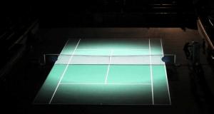テニスコートを使ったプロジェクションマッピング - TETRA.TENNIS v3.0 -