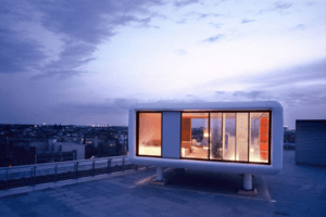 ニューヨークの隠れ家的屋上ハウスたち - Rooftop Houses -
