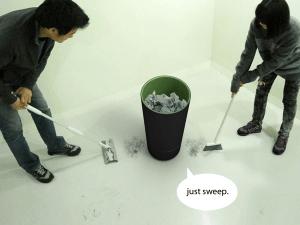 ゴミを食べるゴミ箱 - Cuum -