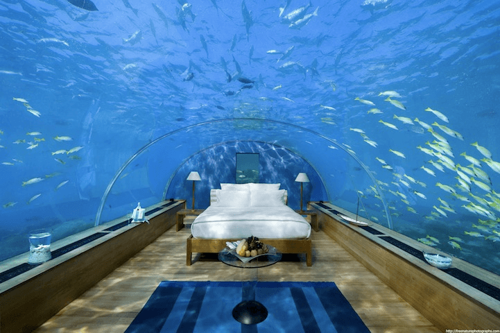 Underwater Bedroom