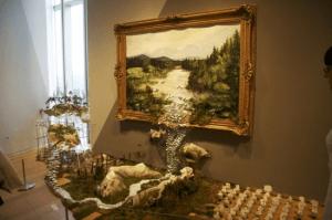 いつまでも枠に収まってません。飛び出た絵画 - Real 3D Paintings -