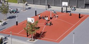 バスケットボールの新しい体験!凸凹な立体コート - 3D Basketball Court -