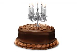 セレブなケーキに飾る燭台 - Cake Candelabra -