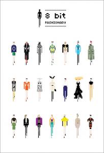 有名ブランドファッションをドット絵で表現するとこうなる - 8 bit Fashionary -