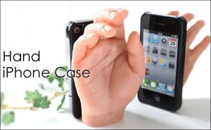 iPhoneを持つあなたの手を優しくぎゅっと・・・、ギョッ!なケース - Hand iPhone Case -