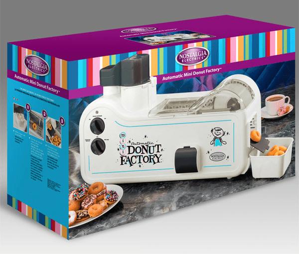 かわいいミニミニのドーナッツ工場 - Donut Factory -