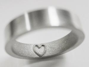 指にメッセージと想いを刻む指輪 - Inner Message Ring -