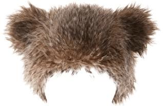 Fur Bear Hat
