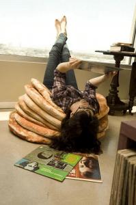 気分はバター?ふかふかホットケーキのクッション - Pancake Floor Pillows -