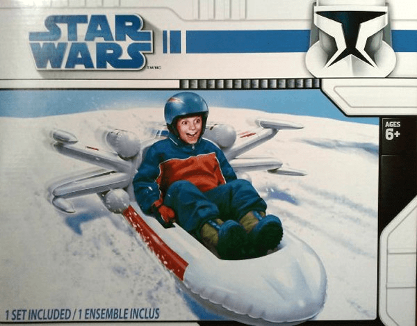 X-Wing Fighter Snow Sled