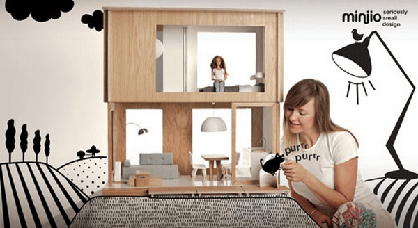 Eco Barbie dollhouse