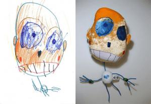 子供の描いた絵をぬいぐるみで現実化するサービス - Child's Own Studio -