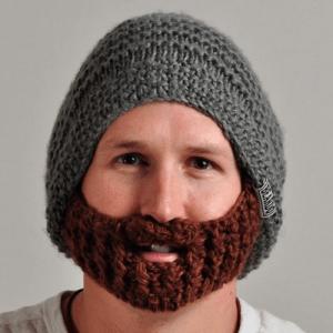 暖かそうなおヒゲだと思いきや。。 - Beard Hat -