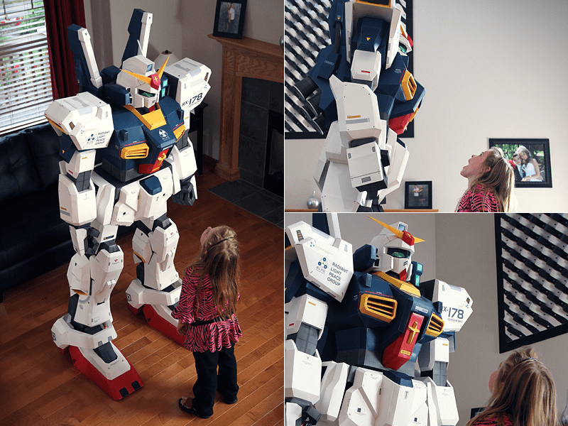 7FT Gundam Papercraft