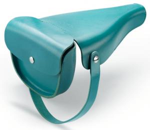 自転車のサドルと融合するオシャレなミニバッグ - Victoria Saddle Handbag -