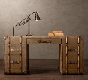 トランクをリメイクしたかのようなアンティーク調家具- Trunk Collection -