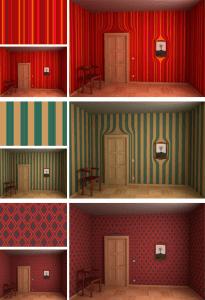 目の錯覚を起こしそうな歪んだ壁紙 - EYE TRICKING WALLPAPERS -