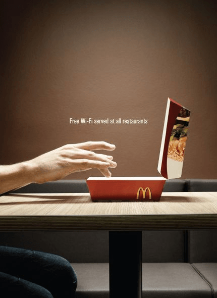 Creative McDonalds Ads