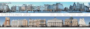 ヨーロッパの美しい街並を楽しめるパノラマカレンダー - Street Panorama Calendar -