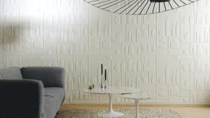 本棚のようにも見え立体感のある花瓶の壁紙 - ELITIS wallpapers -