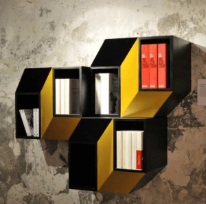 飛び出して見えるトリックアートなキャビネット - 3D Cabinet -