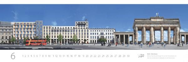 Street Panorama Calendar