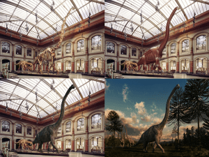 恐竜の化石が目の前でよみがえり動き出すAR技術 - Jurascopes -