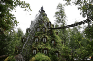 ファンタジーな物語に出てきそうな魔法の山という名のホテル - Magic Mountain-