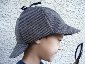 これであなたの子供も名探偵に!シャーロックホームズなりきり帽子 - Sherlock Holmes Hat -