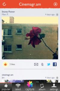 ついに出た!あの不思議に動く画像を簡単に作れるアプリ - cinemagram -