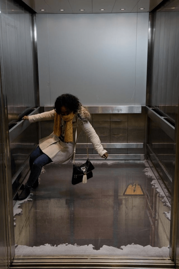 Elevator Illusion Shocks