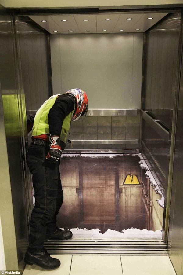 Elevator Illusion Shocks