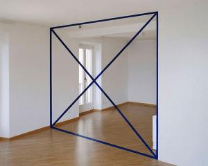 あるはずのない壁が目の前に現れるトリックアート - Geometric Illusionary Perspective Paintings -