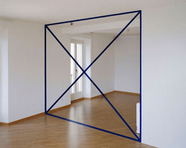 Geometric Illusionary Perspective Paintings