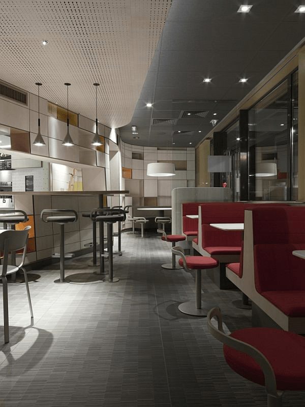 The New Design Of McDonalds In France