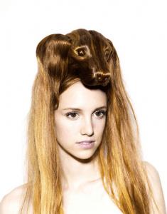 強烈なインパクトのアニマルヘアメイク - Hair Hats -