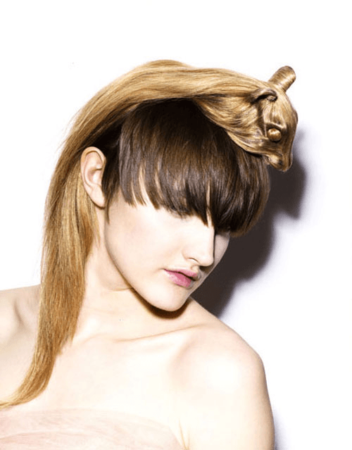 new design hair style 強烈なインパクトのアニマルヘアメイク hair hats style4 design 6736