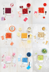 PANTONEで朝食を - Pantone Toasts for breakfast -