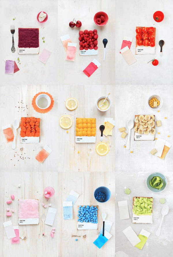 Pantone Toasts for breakfast