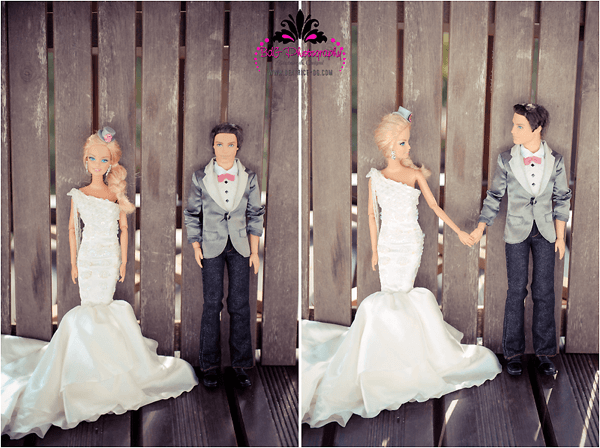 Wedding Barbie and Ken