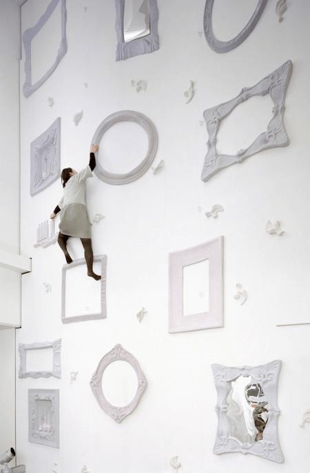 Whimsical Climbing Wall