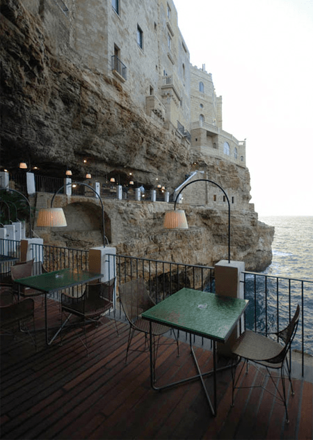 Restaurant in a Cave
